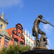 Gdansk - Neptune Fountain — Stock Photo #7114952