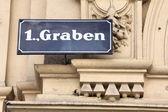 Graben, Vienna — Stock Photo