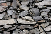 Basalt stone texture — Stock Photo