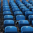 Blue chairs — Stock Photo #7261741