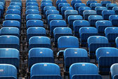 Blue chairs — Stock Photo