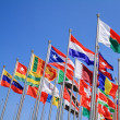 National flags — Foto de Stock
