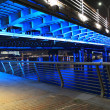 Stock Photo: Blue lighting Bridge