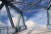 The city of Iron Bridge — Stock Photo