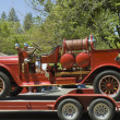 restored firefighters truck — Stock Photo