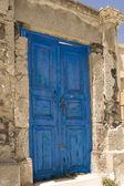 Old door in Greece — Stock Photo