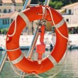 Orange buoy — Stock Photo