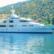 Cruise yacht — Stock Photo
