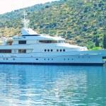 Cruise jacht — Stockfoto
