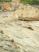 Scala kefalonia, yunanistan ın rock kıyı şeridi — Stok fotoğraf