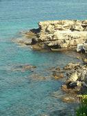 A coastline in Scala, Kefalonia — Stockfoto