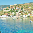 Coastline of Kefalonia, village Assos, Greece — Stock Photo