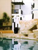 キプロス ホテル コート — ストック写真