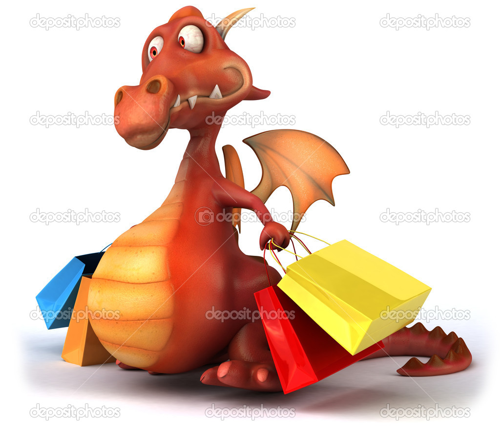 Red dragon — Stock Photo #6807312