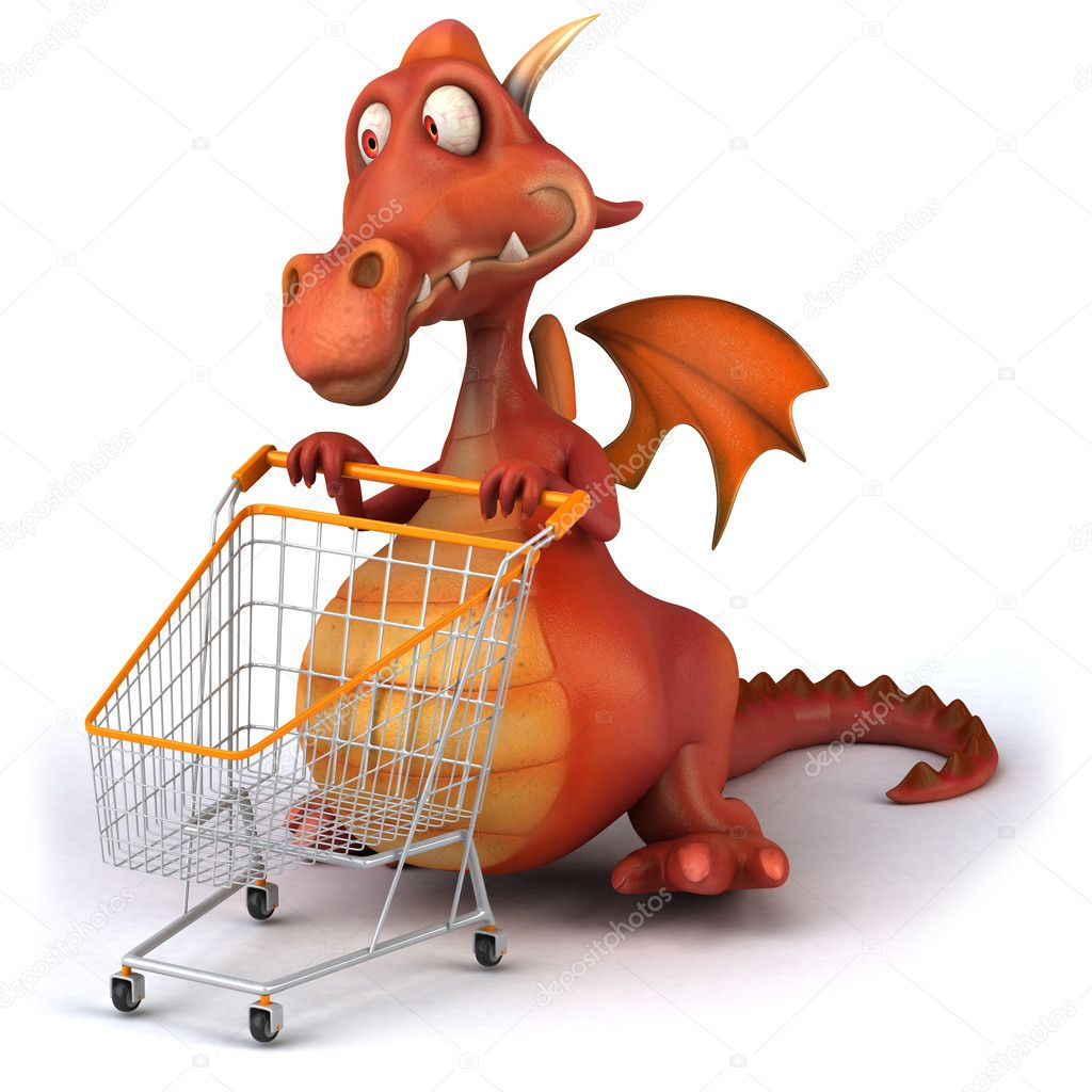 Red dragon  Stock Photo #6807315