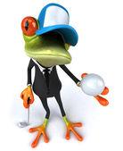 Iş kurbağa — Stok fotoğraf