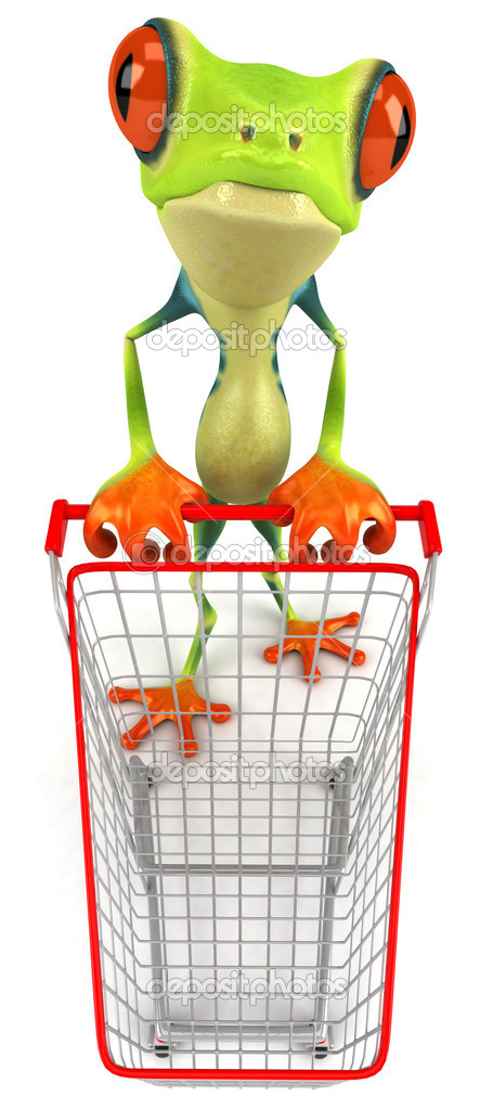 Frog with  — Stock Photo #6937333