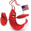 American lobster — Stock Photo