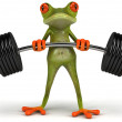 Strong frog — Stock Photo #7368413