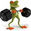Strong frog — Stock Photo #7368419