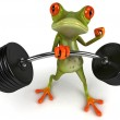 Strong frog — Stock Photo #7368429