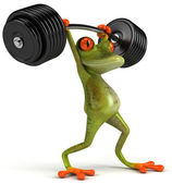 Strong frog — Stock Photo