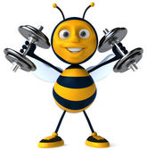 Strong bee — Stock Photo