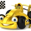 Taxi cab - Stock Photo