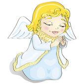 Cartoon engel — Stockvector