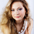 Girl of slavic appearance with long fair hair — Stock Photo #7959131