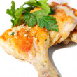 Roasted chicken legs — Stock Photo