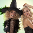 The two black witch party — Stock Photo #7167835