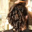 Wedding hair style — Stock Photo
