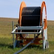 Spool of Irrigation Pipe - Stockfoto