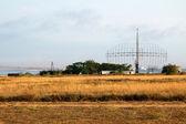 Военный радар противовоздушной системы — Стоковое фото