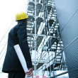 Architect On Site — Stock Photo