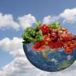 Earth as living source — Stock Photo