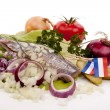 SOUSED HERRING — Stock Photo #6916868