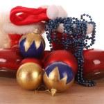 Christmas Santa boots — Stock Photo