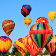 Hot air balloons — Stockfoto #6747662