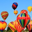 Foto Stock: Hot air balloons