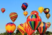 Horkovzdušné balóny — Stock fotografie