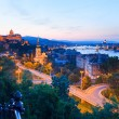 Budapest night view - Stock Photo