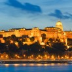 Budapest night view — Stock Photo
