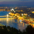 Stock Photo: Budapest night view