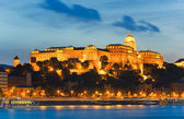 Budapest night view — Stock Photo
