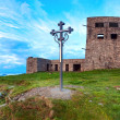 Stock Photo: Observatory ruins on Pip Ivmountain (Carpathian, Ukraine)