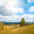 Autumn mountain village — Stock Photo #7560201