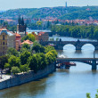 Bridges in Prague, Czech Republic — Stock Photo