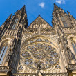 Royalty-Free Stock Photo: St. Vitus Cathedral , Prague, Czech Republic